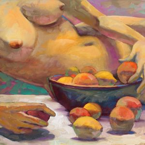 Nude with Fruit